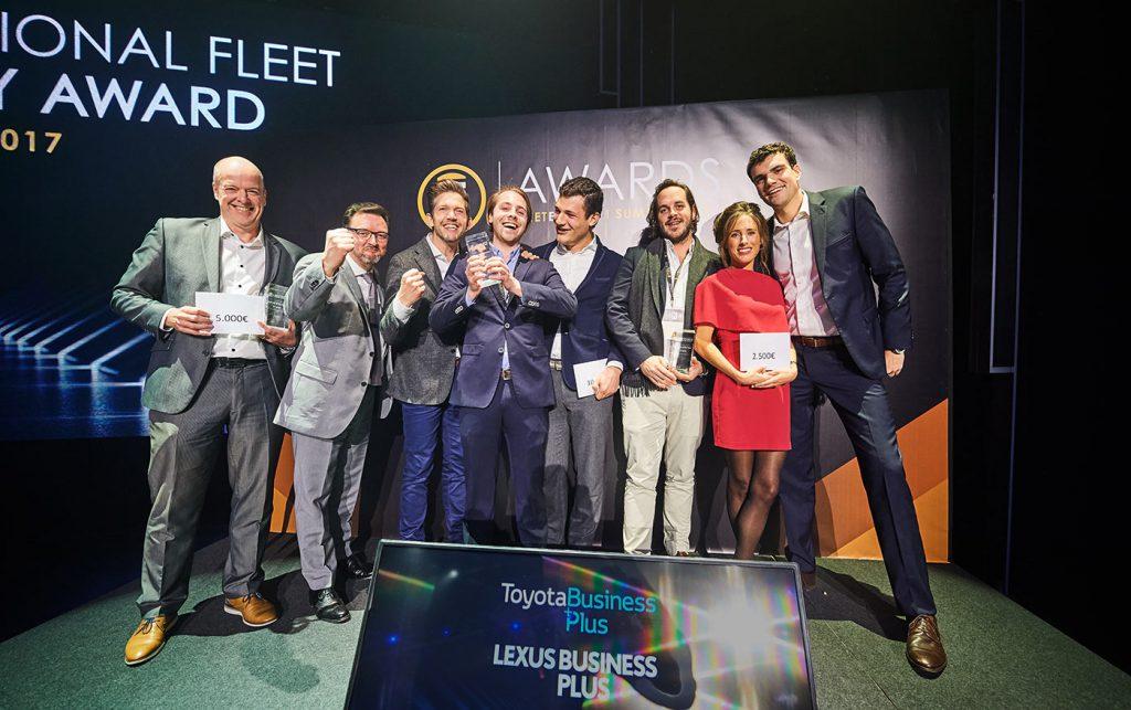 Parkd wint de Smart Mobility Award voor zakelijk parkeren