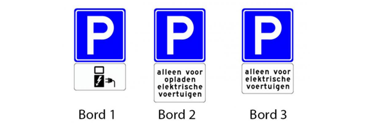 Bezwaar parkeerboete verkeersborden